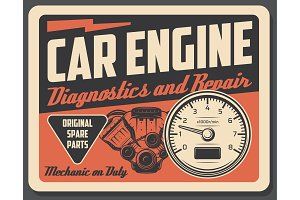 Car repair service and diagnostics