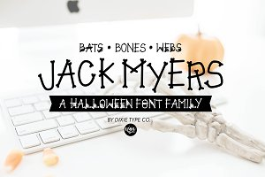 JACK MYERS Halloween Font Family