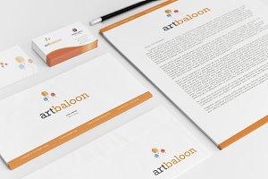 Artbaloon Brand Identity
