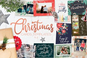 Christmas Card Templates v3