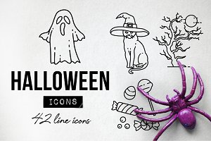42 Scary Halloween Icons