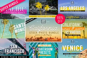 200+ California Stock Photo Bundle
