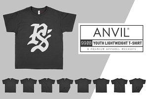 Anvil 990B Lightweight Youth T-Shirt