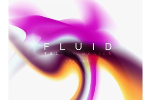 Background abstract - liquid colors