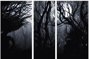 Triptych: Dryads | JPEG
