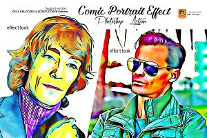 Comic Portrait Effect