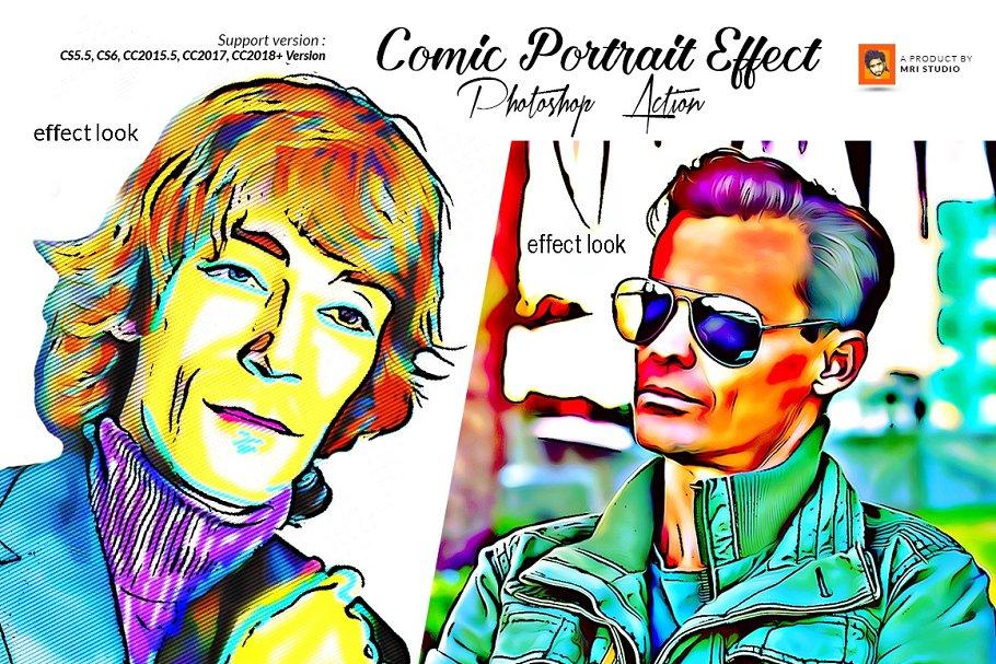 Comic Portrait Effect