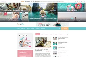 Online Magazine WordPress Theme