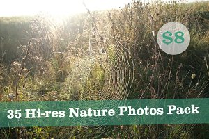 35 Hi-res Nature Photos Pack