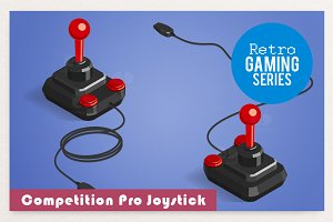 Retro Competition Pro Joystick