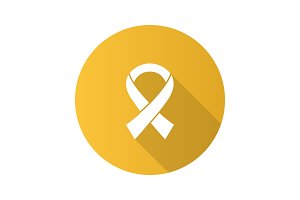 Anti HIV ribbon icon
