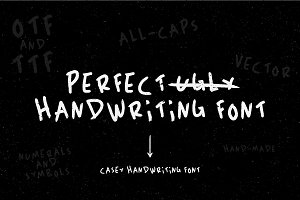 Casey Handwriting Font