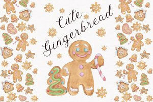 Cute gingerbread.