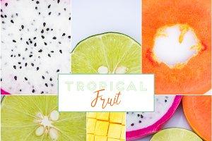Tropical FRUIT - Stock Photo Bundle