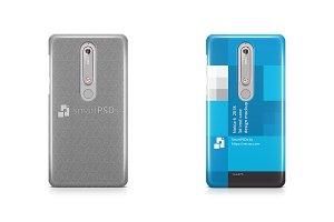 Nokia 6.1 3d IMD Case Design Mockup