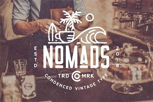 Nomads -The Farmer Original Typeface