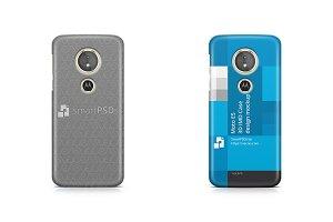 Moto E5 3d IMD Case Design Mockup