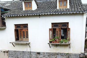 Traditional Chinese House Windows
