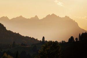 Mountains near lake Weissensee