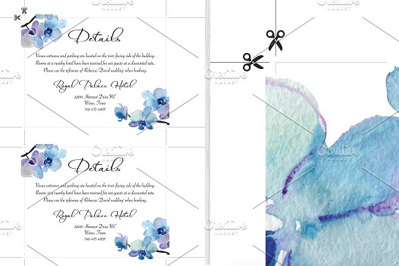 Wedding Invitation Suite - Rebecca in Wedding Templates - product preview 3