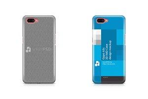 Oppo A3s 3d IMD Case Design Mockup