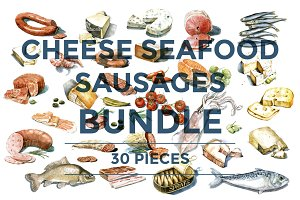 30% OFF CHEESE SEAFOOD SAUSAGES