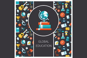 Global Education Flyer Card