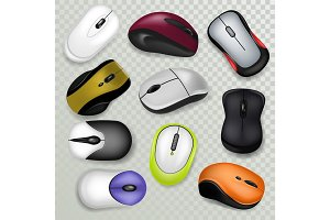 Computer mouse vector pc clicking