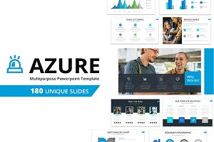 Azure Multipurpose Powerpoint