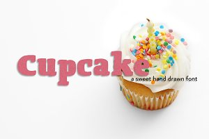 Cupcake Hand Drawn Font