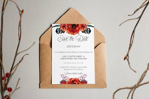 Wedding Invitation Suite - Jane