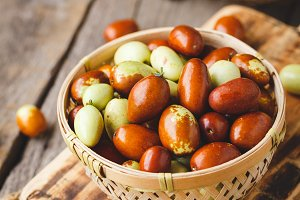 Chinese date fruits