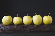 Fresh Asian pears by  in Photos