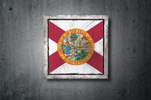 Old Florida State flag
