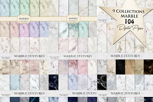 Marble Digital Paper 9 Collections