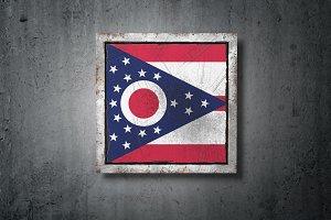 Old Ohio State flag