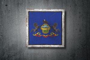 Old Pennsylvania State flag