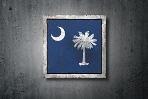 Old South Carolina State flag