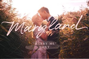 Maryland Wedding Font