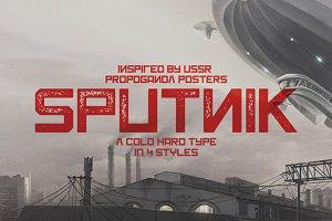 Sputnik Typeface