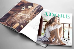 Multipurpose InDesign Magazine