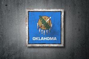 Old Oklahoma State flag