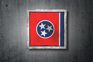 Old Tennessee State flag