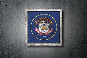 Old Utah State flag
