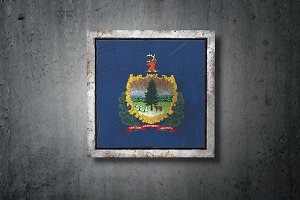 Old Vermont State flag