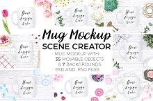 Mug Mockup Scene Creator