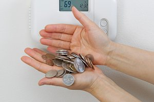 Losing money with heating home