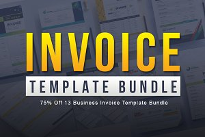 75% Off 13 Business Invoice Template