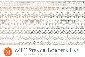 MFC Stencil Borders Five