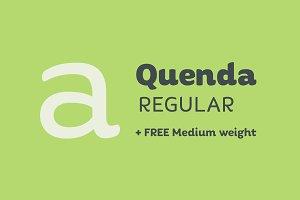 Quenda Regular + Medium